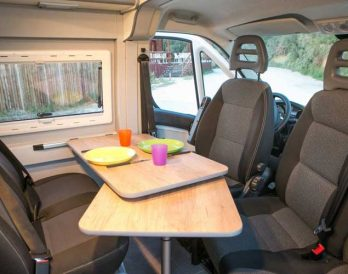 HOW Campers - Campervan Interior 1