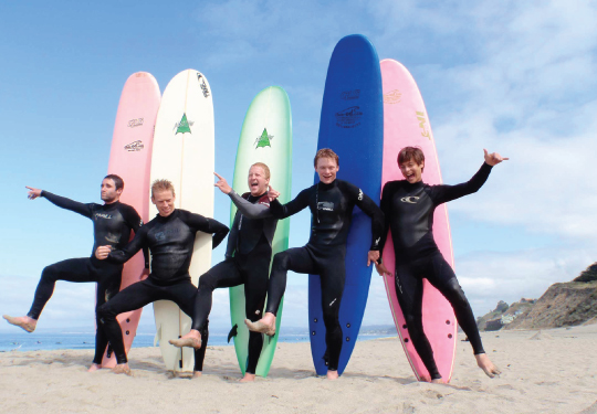HOW Campers – Partners – International Surf School