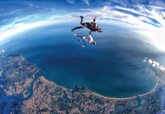 HOW Campers – Partners – Skydive Algarve