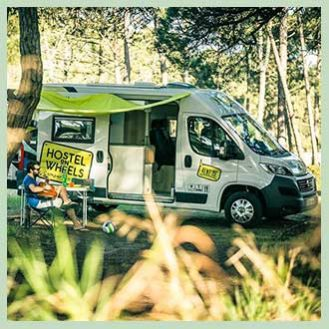 HOW Campers - Instagram - Campervan Shade